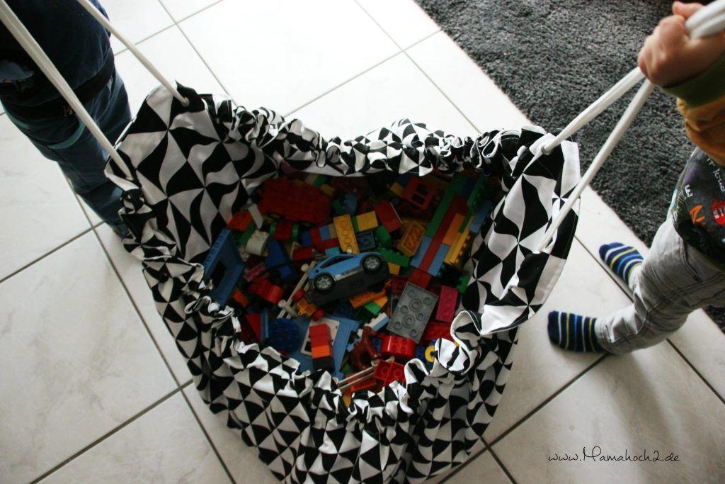 die schnelle aufr umhilfe im kinderzimmer der spielzeugsack kinder spielzeug schnittmuster. Black Bedroom Furniture Sets. Home Design Ideas