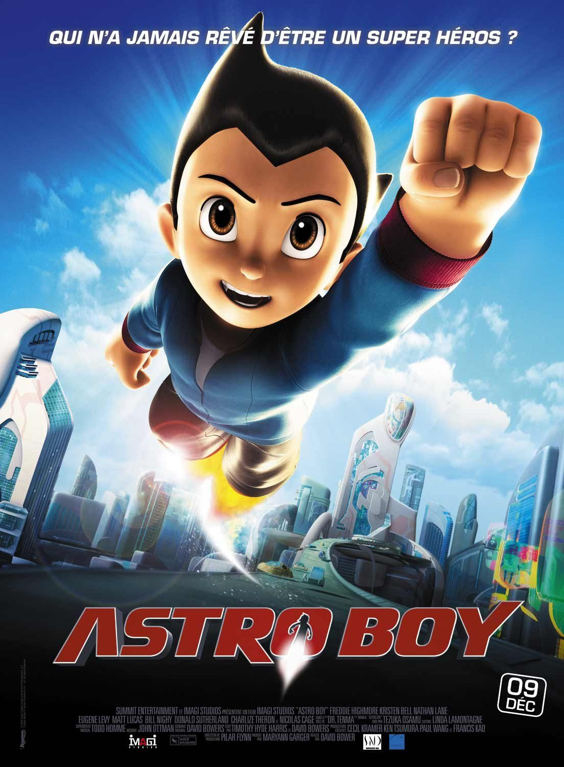 Extra large movie poster image for astro boy