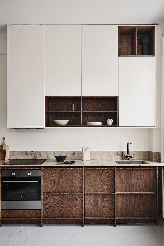 Award Winning Kitchens In Scandinavian Design Nordiska Kok In 2020 Oak Kitchen Modern Kitchen Design Home Decor Kitchen