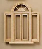Dollhouse Miniature Double Casement Window from Houseworks 1:12 Scale