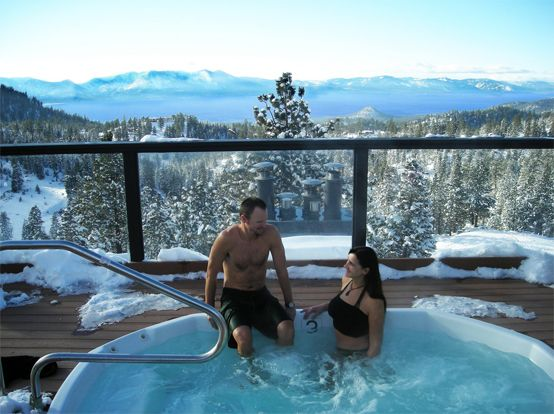 Enjoy The Winter From Your Hot Tub In The Comfort Of Your Own