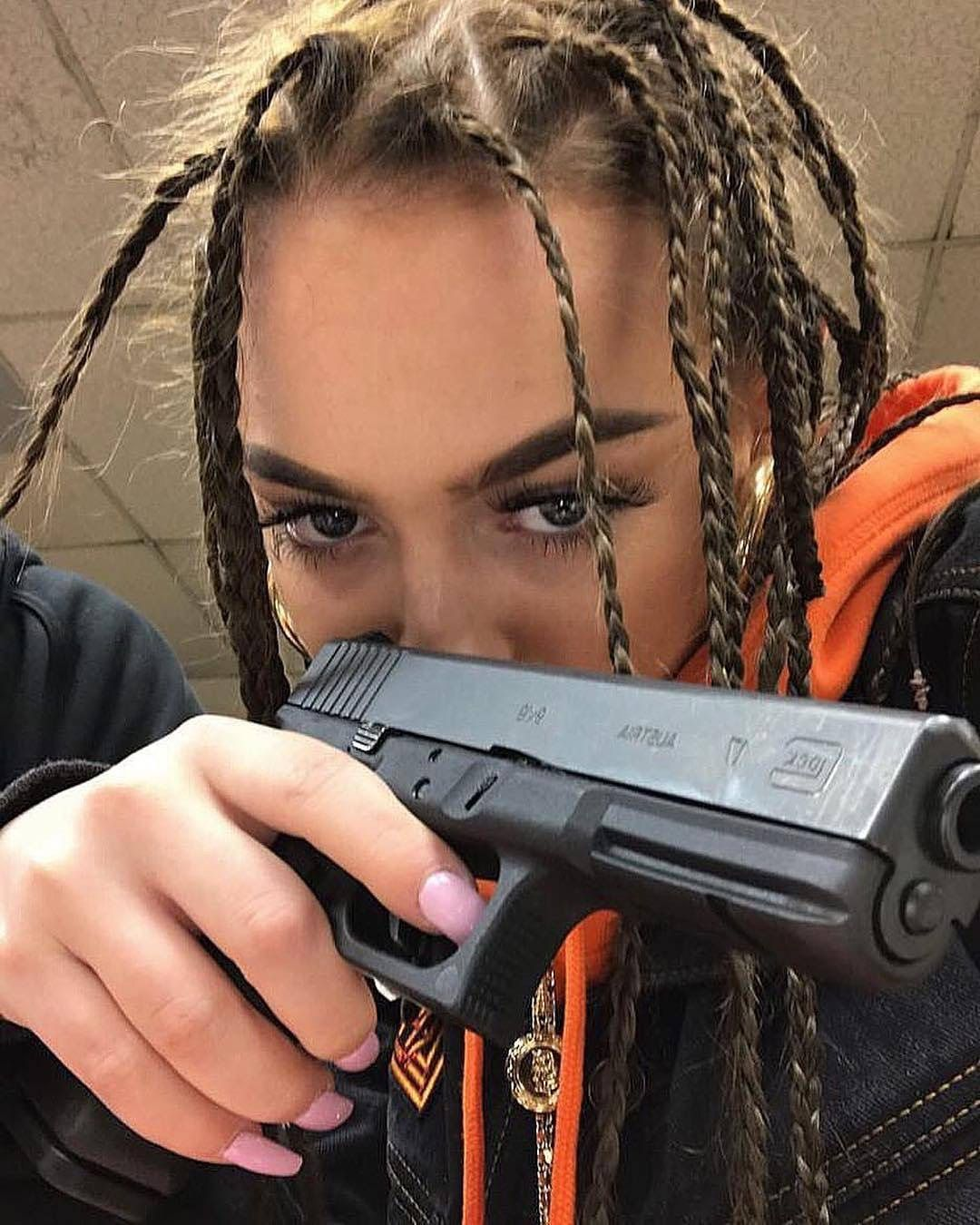 Pin by MeAlRo on Girls  Pinterest  Baddies Guns and