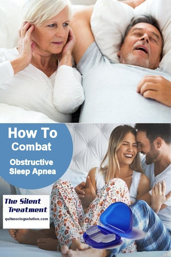 How To Combat Obstructive Sleep Apnea Or Obstructive