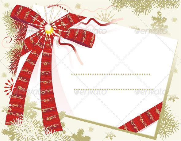 Christmas Card Background – Blank Xmas Cards