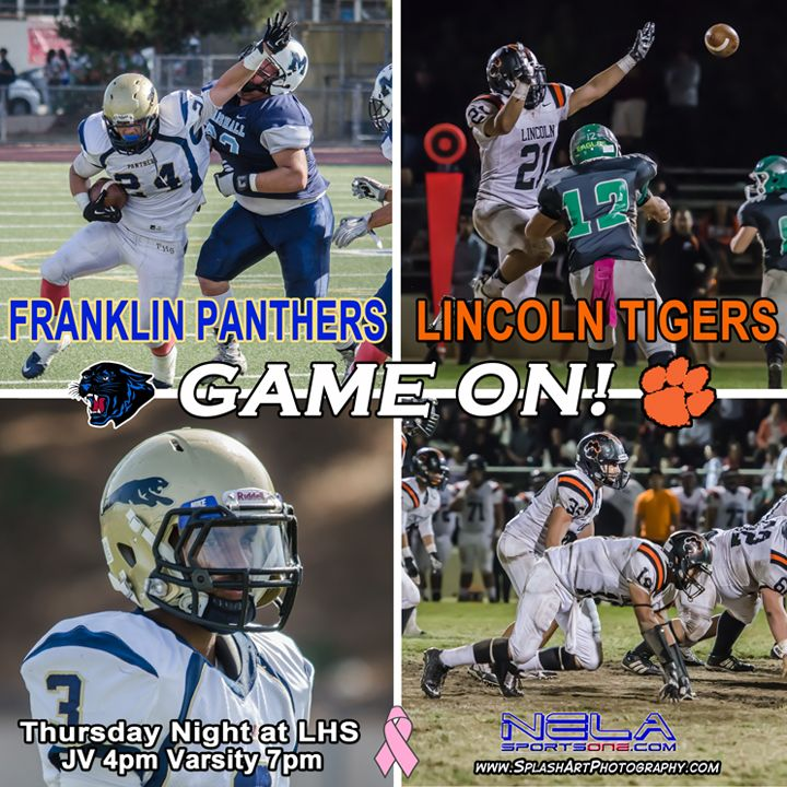 2014 Franklin Panthers vs Lincoln Tigers