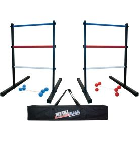 The Maranda Metal Ladder Ball Is Built To Last Designed With A Metal Ladder This Game Will Withstand Continual Indoo Ladder Ball Camping Games Game Giveaway