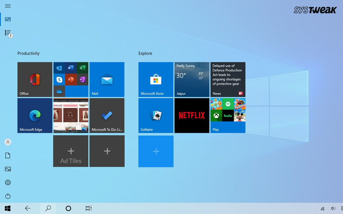 How To Tile An Image In Windows 10 Without Using Any