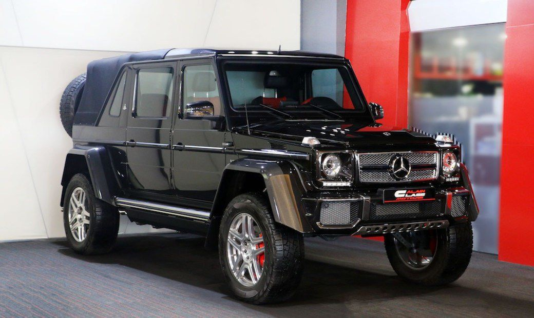 Mercedes Benz Maybach G650 Landaulet 1 027 000 Mercedes Benz