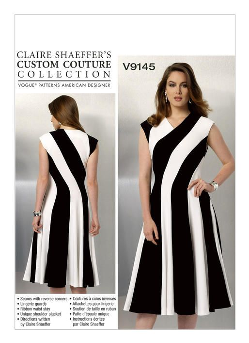 I Own This | V9145 | Vogue Patterns Claire Shaeffer\'s Custom Couture ...