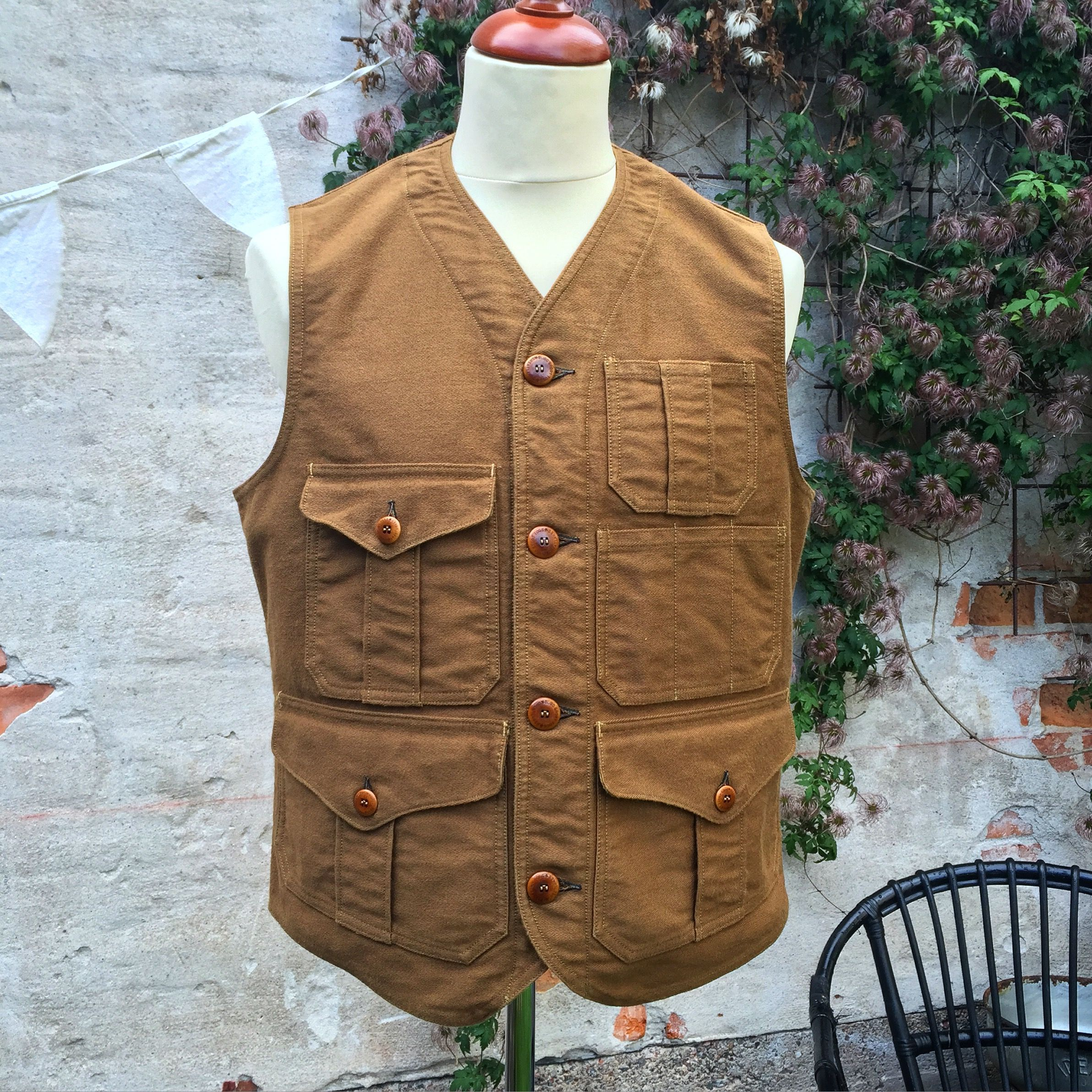 48ce3f777a2 Freewheelers Vest! (made in japan