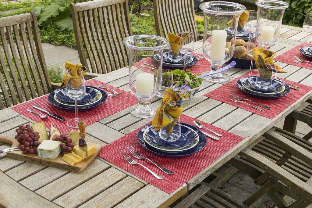 Chilewich Placemats Summer Color Inspirations For The Indoor And Outdoor Table The Mill At Newton Lower Falls Deko Deko Ideen Al Fresco