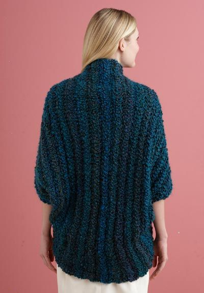 Free Crochet Pattern L20507 Simple Crochet Shrug : Lion Brand Yarn ...