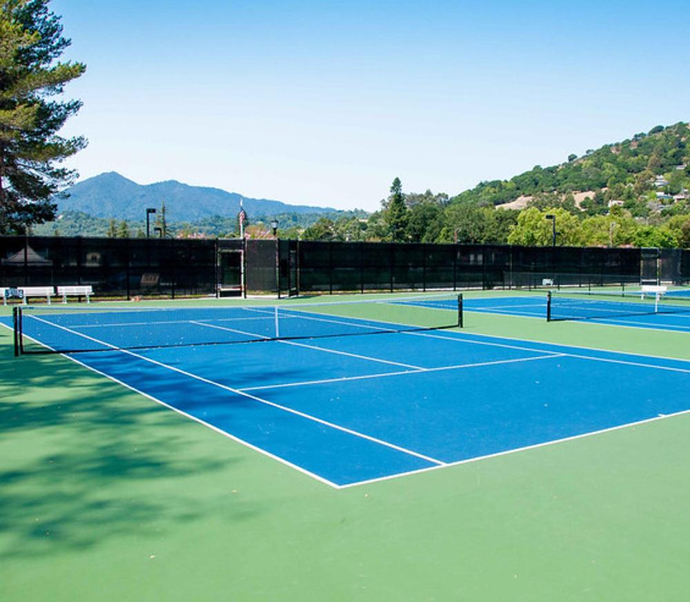Indoor Or Outdoor Tennis Court Tennis Outdoor