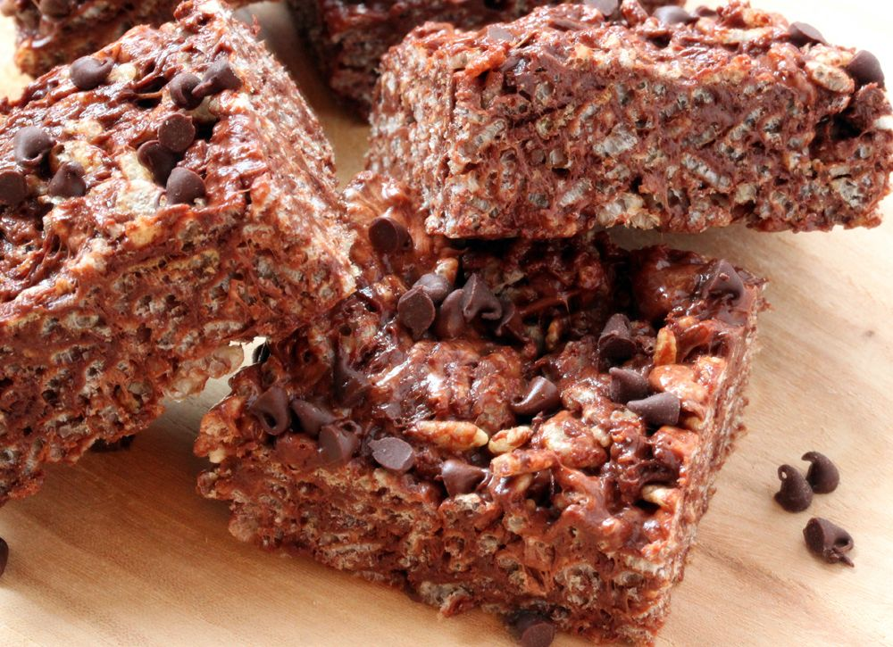 Chocolate Rice Krispies By Whats Gaby Cooking