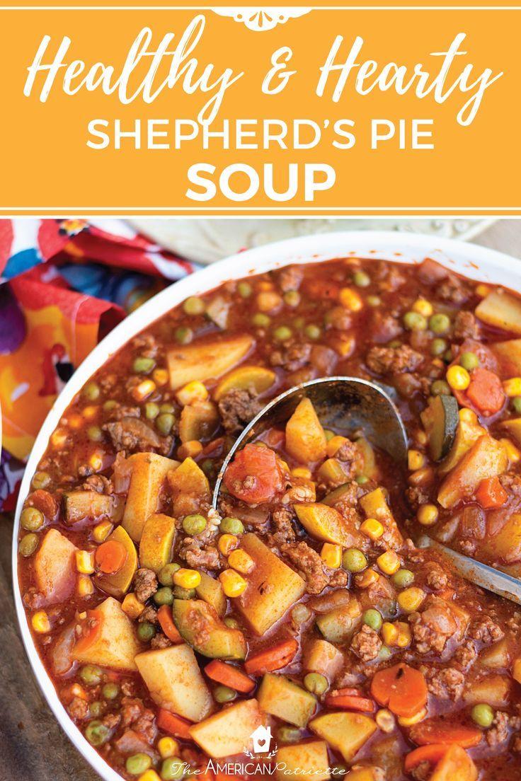 Shepherd's Pie Soup images