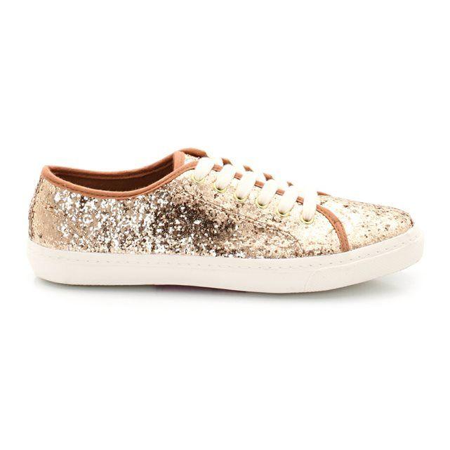 Baskets à paillettes dorées SOFT GREY   Shoes !   Pinterest ... a0bb6b02e518