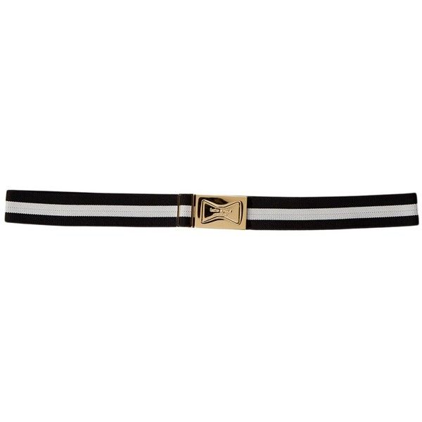 kate spade new york Interlocking Bow Belt ($35) ❤ liked on Polyvore featuring accessories, belts, kate spade belt, adjustable belt and kate spade