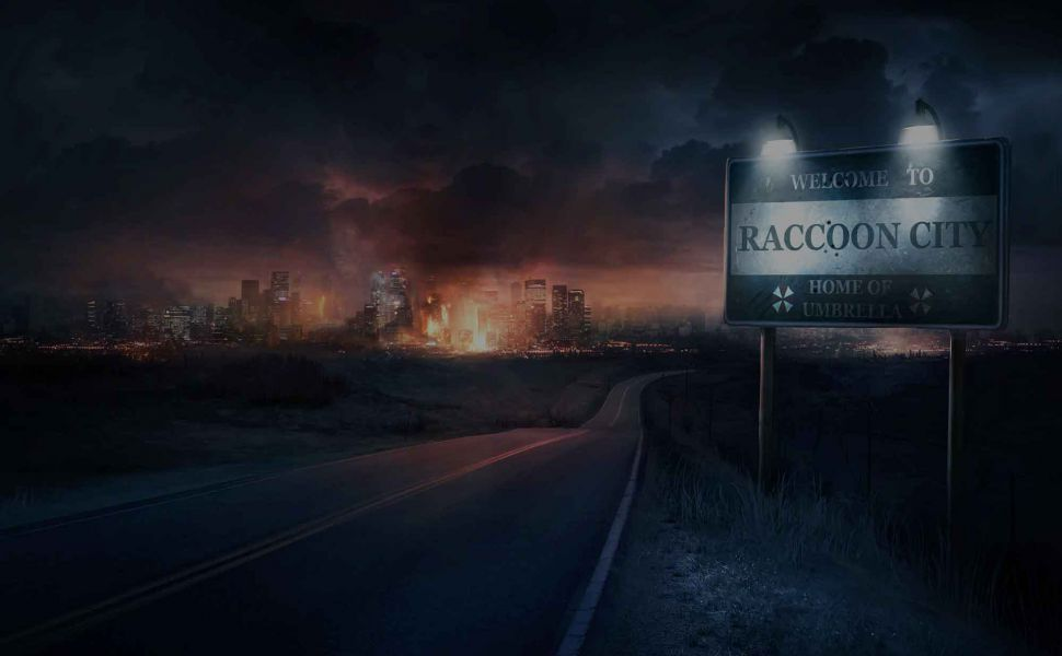 Welcome To Raccoon City Hd Wallpaper Resident Evil Fondos