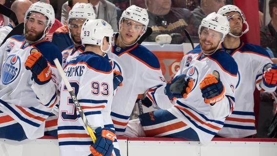 Making Sense Of Oilers Defense Opening Night Roster Ethanbear Evanbouchard Janrutta Jasongarrison Oilers Edmonton Oilers Usa Today Sports