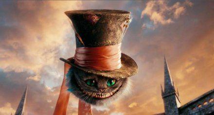 El gato de Cheshire le roba el sombrero a Johnny Depp - cine - -  Fantasymundo.com 4b1e2a0eba6