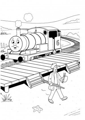 Free Thomas The Train Coloring Pages | Coloring pages | Pinterest