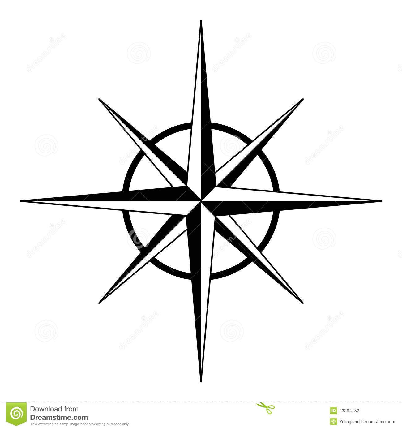 Easy To Draw Compass Rose Easy Drawing Free Download Clip Art Carwad