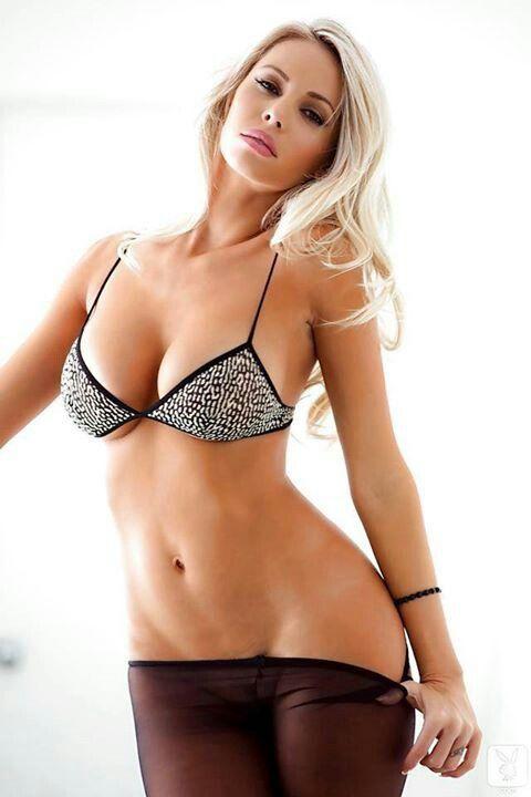 Blonde Girls In Bras
