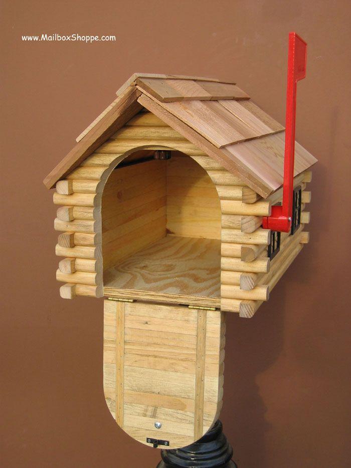 Bon Log Cabin Mailbox