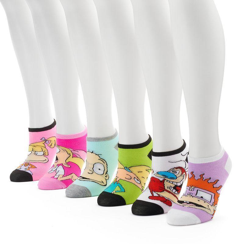 0caf0bd4a Women s 6-pk. Nickelodeon Cartoon No-Show Socks