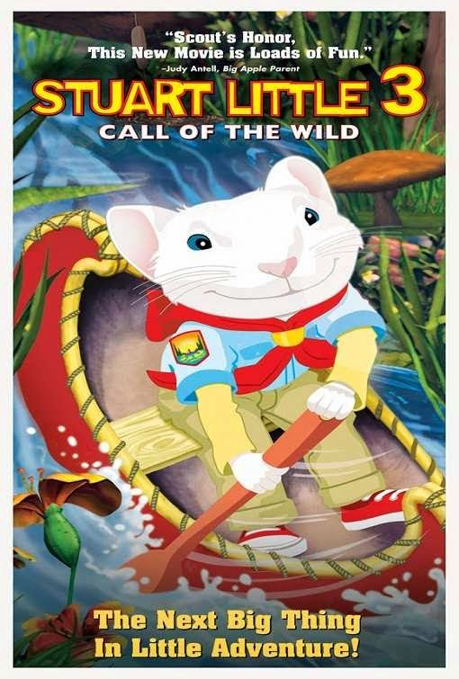Stuart Little 3 Call Of The Wild 2005 BluRay 720p 400MB ( Hindi – English ) ESubs MKV