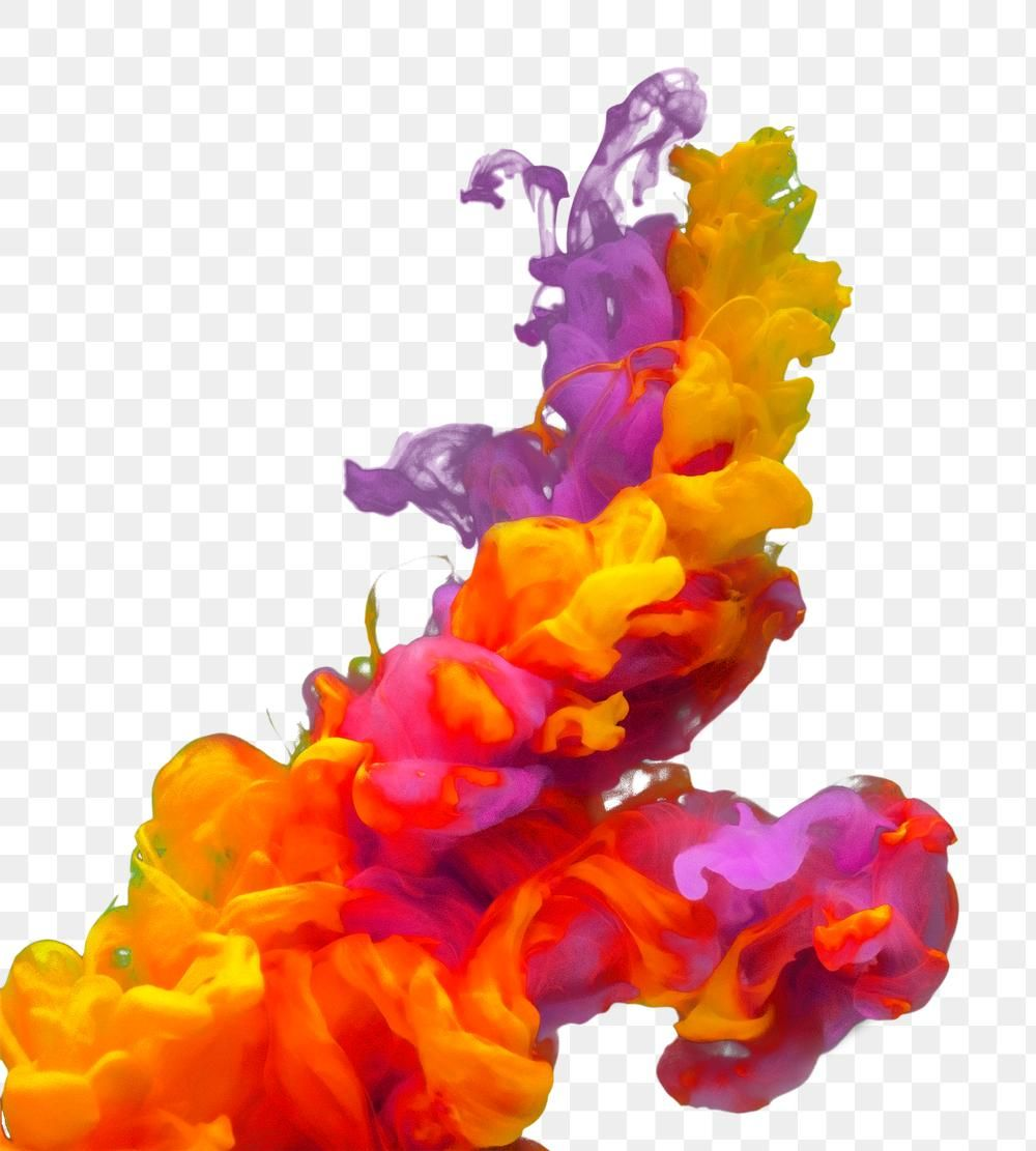 Ink Explosion Png Gradient Splash Color Free Image By Rawpixel Com Maewh Png Color Color Splash