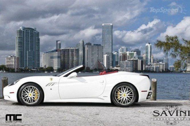 #Ferrari #California by #Savini