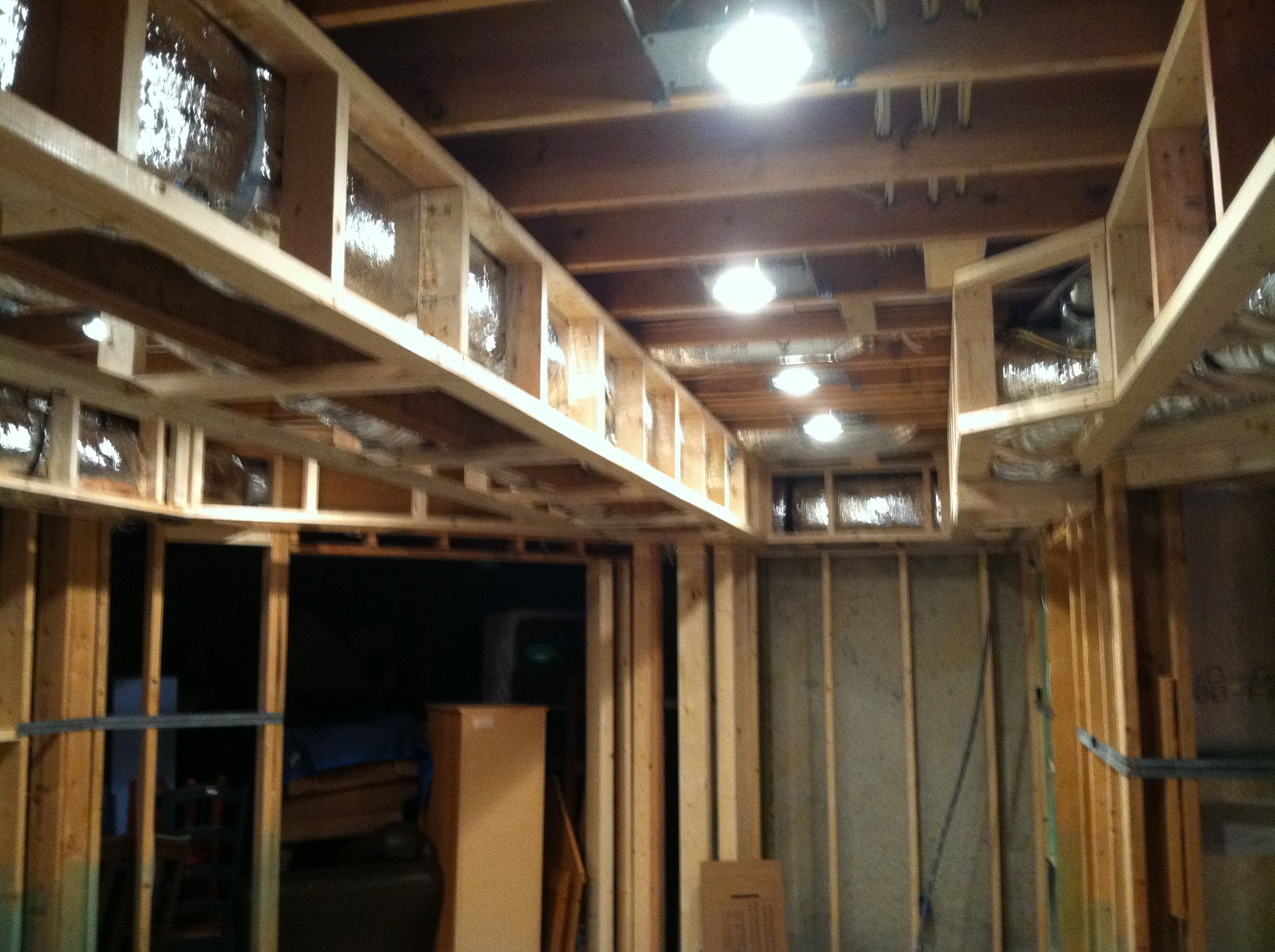 Tray Ceiling Framing Home New Builds Remodeling