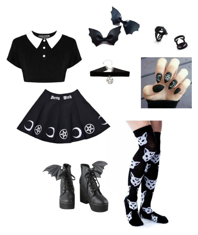 """little witch""barnowlkitten on polyvore featuring"