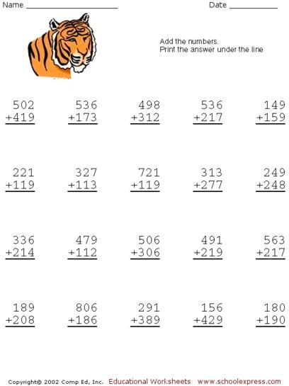 SchoolExpress.com   19000+ FREE worksheets, create your ...