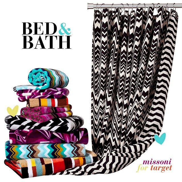 Missoni Bed Bath I Have The Shower Curtain I Just Need
