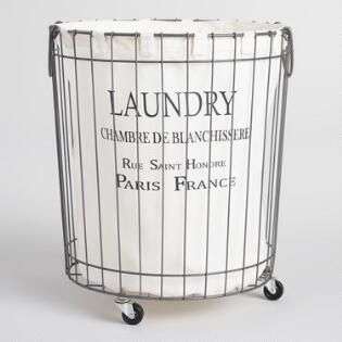Claudette Wire Hamper Laundry Room Laundry Hamper Laundry
