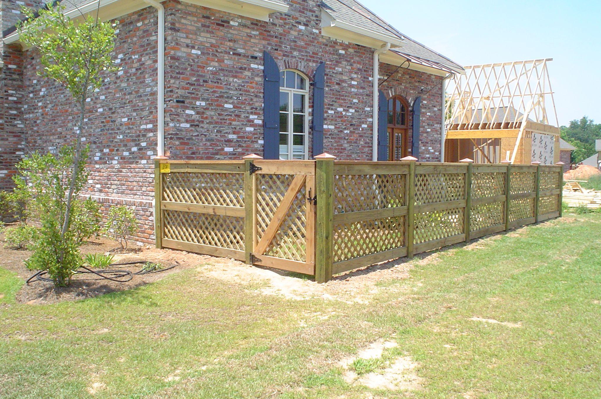backyard dog area dog run fence