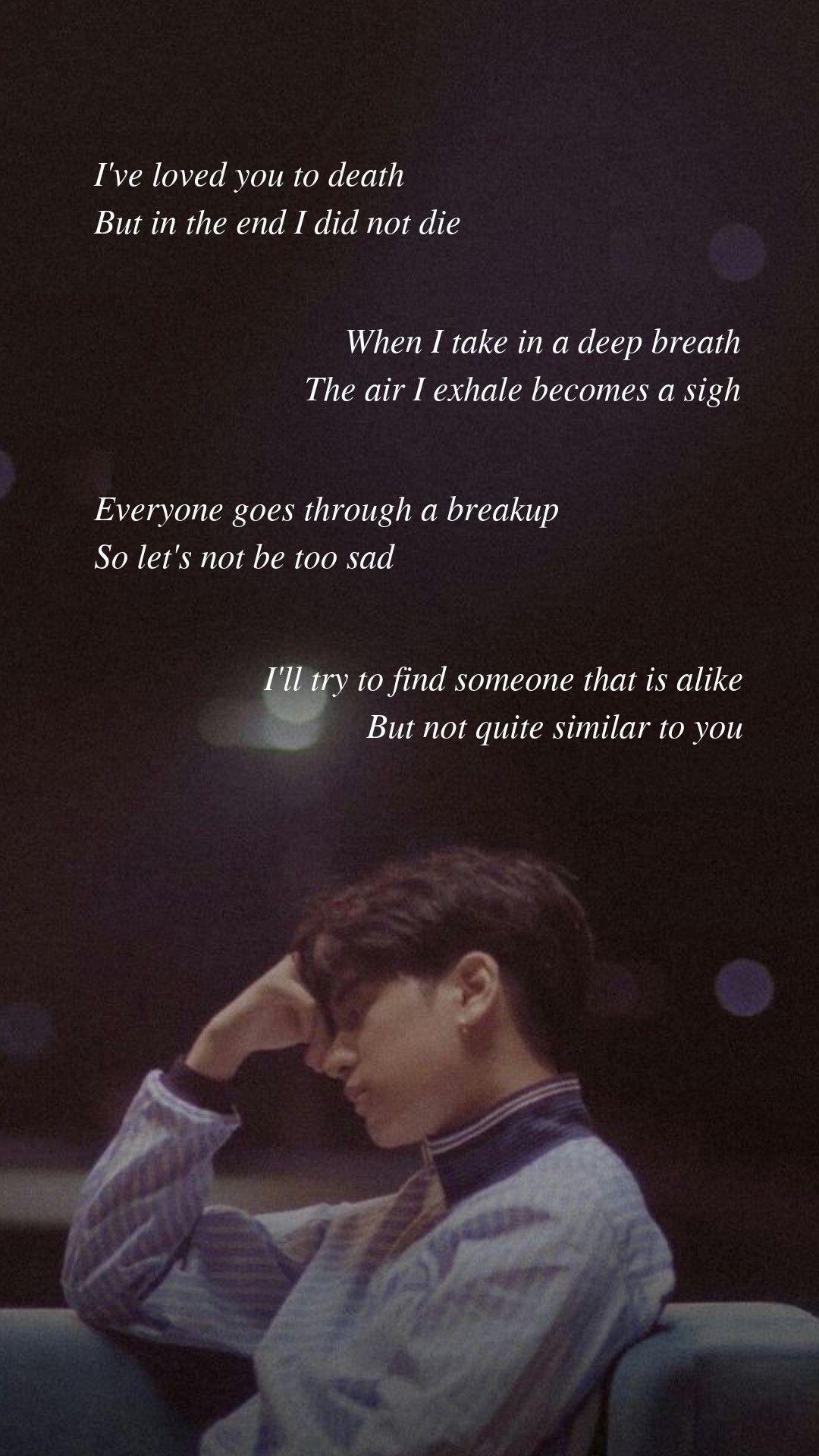 Goodbye Road by iKON Lyrics wallpaper Kutipan lirik