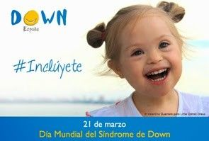 Orientacióncondesa 21 De Marzo Día Mundial Del Sindrome De Down Psychology Baby Face Face