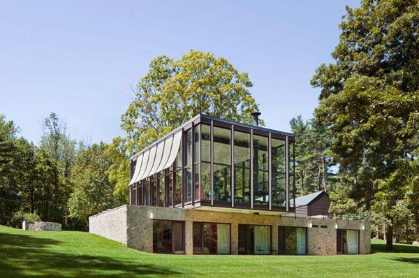 Wunderbar Altes Vermögen Aus Der Mitte Des Jahrhunderts Umgewandelt In Eine Moderne  Residenz   #Architektur