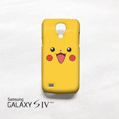 The Pokemon Pikachu Samsung Galaxy S4 Mini Cover Case Storephonecase Accessories On Artfire Samsung Galaxy Cases Mini Case Galaxy S4 Mini