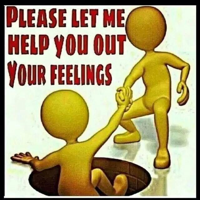 Please let me help you out if your feelings | Feelings, Funny ...