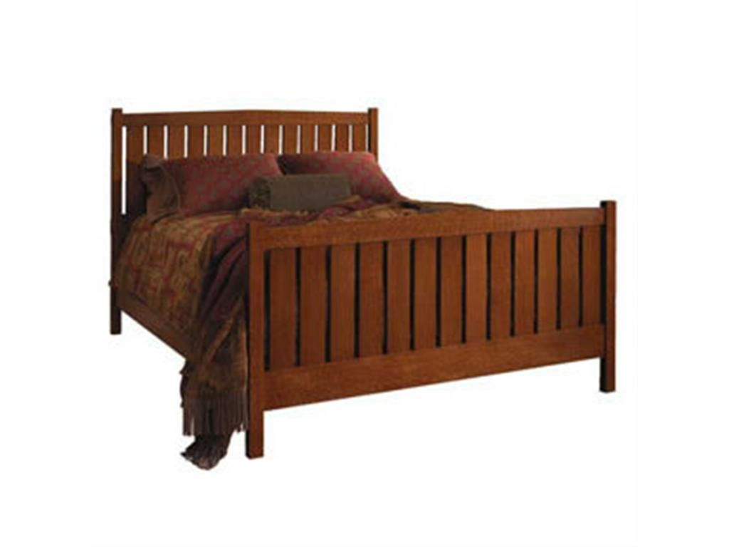 Stickley Bedroom Slat Bed Queen 89-693-Q - Ennis Fine ...