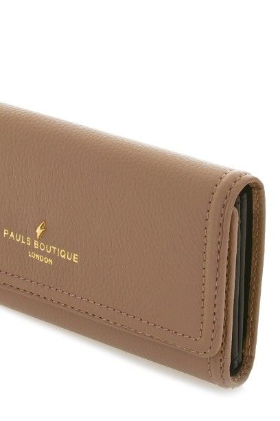 Taylor Taupe Luxury Leather Purse 2