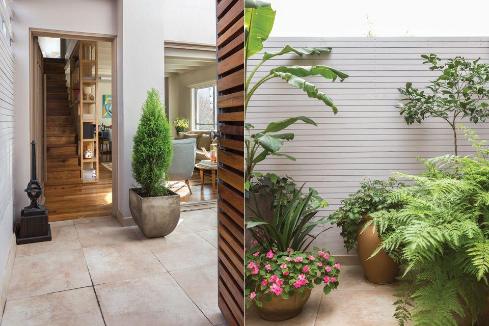 Un depto con impronta de los 50 patios - Disenador de interiores online ...