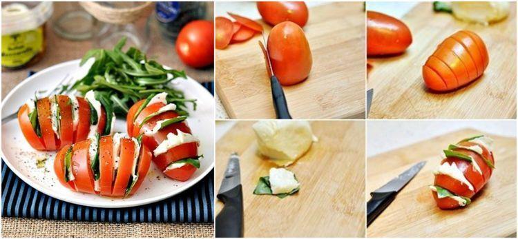 Wie Lasst Sich Ein Tomate Mozzarella Salat Schon Anrichten Top 5 Ideen Tomatemozzarellaspiesse 5 Ideen Wie Man Einen Tomate Mozzarella Salat S