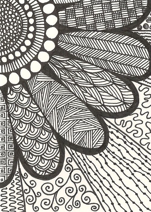 Zendoodle Wish I Had Time To Doodle Like This Easy Doodle Art