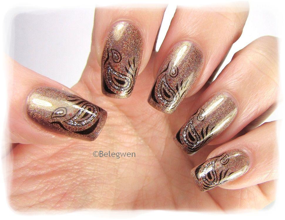 Nail Art by Belegwen: OPI DS Desire