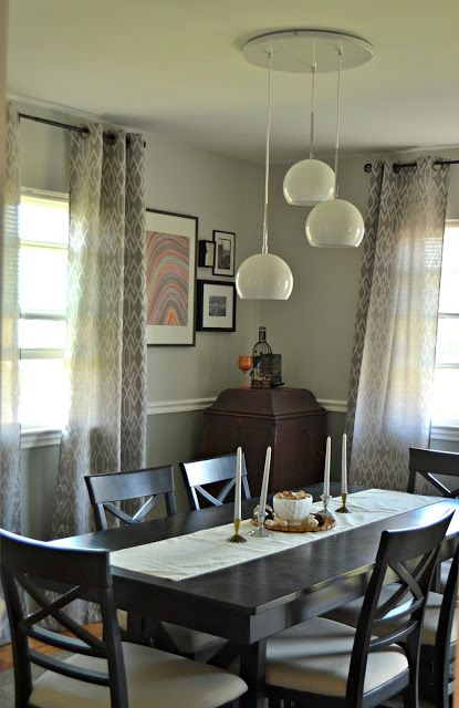 shades of grey dining room lattice above chair rail stamped rh pinterest com